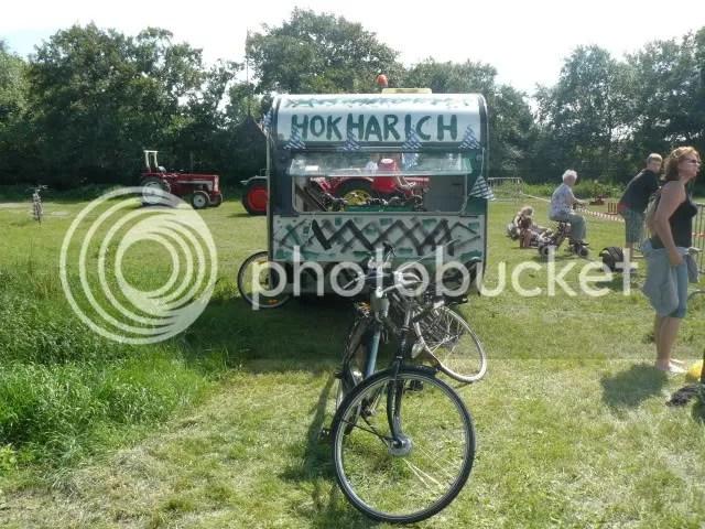 Hokharich was ook van de partij met fiets caravan :P