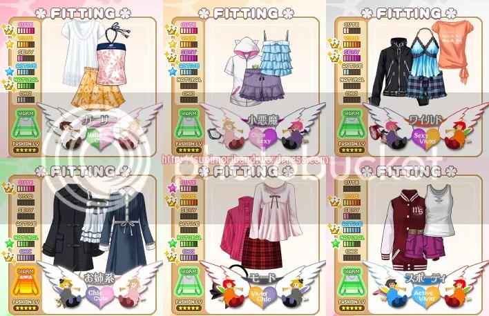 Otome Game Log Fashion In Tokimeki Memorial Gs3 White Prayer