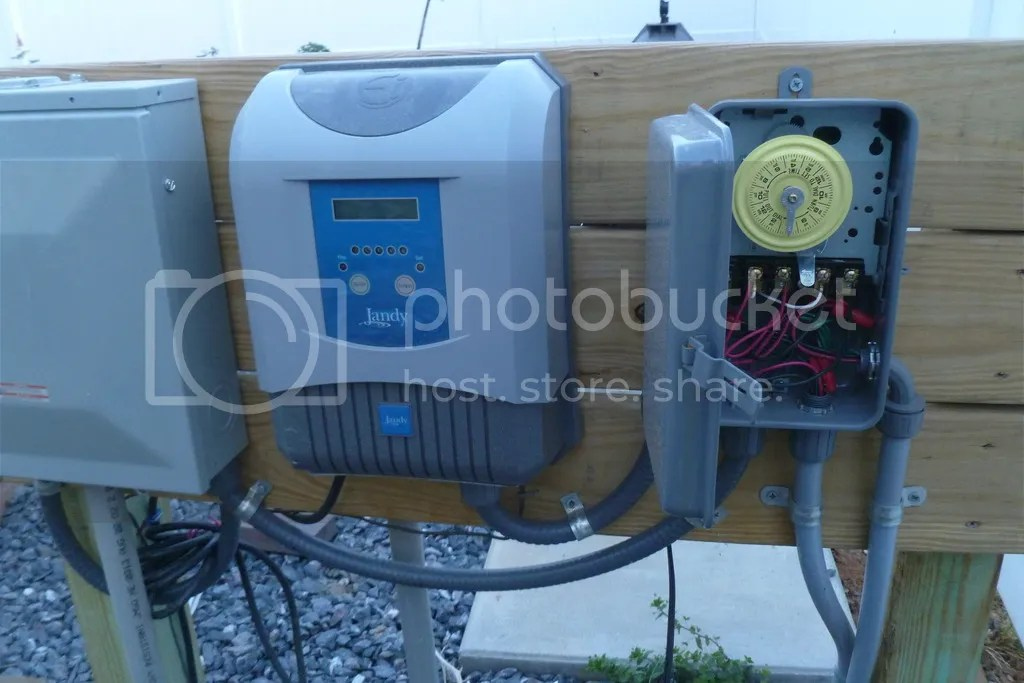 Pool Pump Wiring Timer