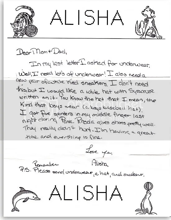 Letters from Summer Camp