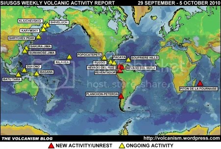 SI/USGS Weekly Volcanic Activity Report 29 September - 5 October 2010