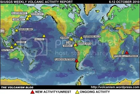 SI/USGS Weekly Volcanic Activity Report 6-12 October 2010