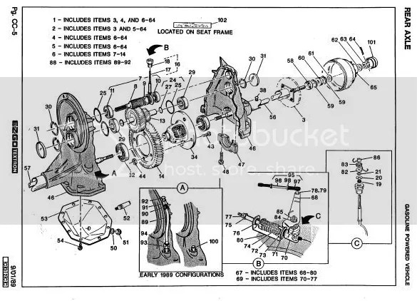 Help with a Dana Spicer H-12 Electric rear transaxle