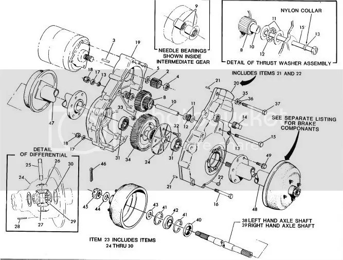 looking for a 1988 ezgo transaxle diagram