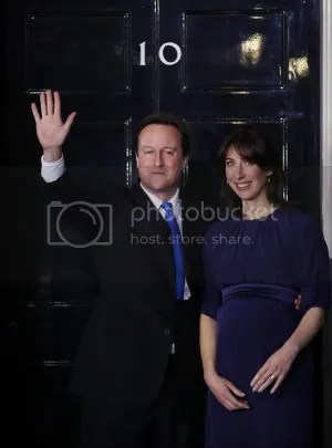 (300คูณ405)David Cameron Becomes The British Prime Minister In A Coalition Government(Samantha Cameron)