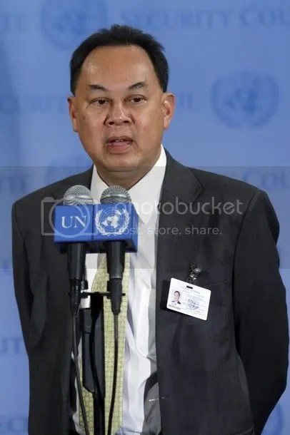 Kasit Piromya, Minister of Foreign Affairs of Thailand,