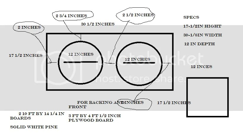 Plans to build 2x12 Speaker Cabinet Plans PDF Plans