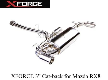 XFORCE Exhaust systems and headers Mazda 3, 6 & RX8 Review