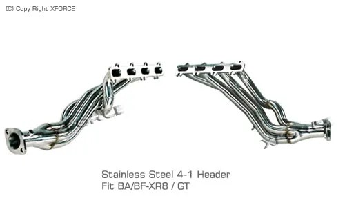 Xforce Exhaust Systems for Ford Falcon BA/BF