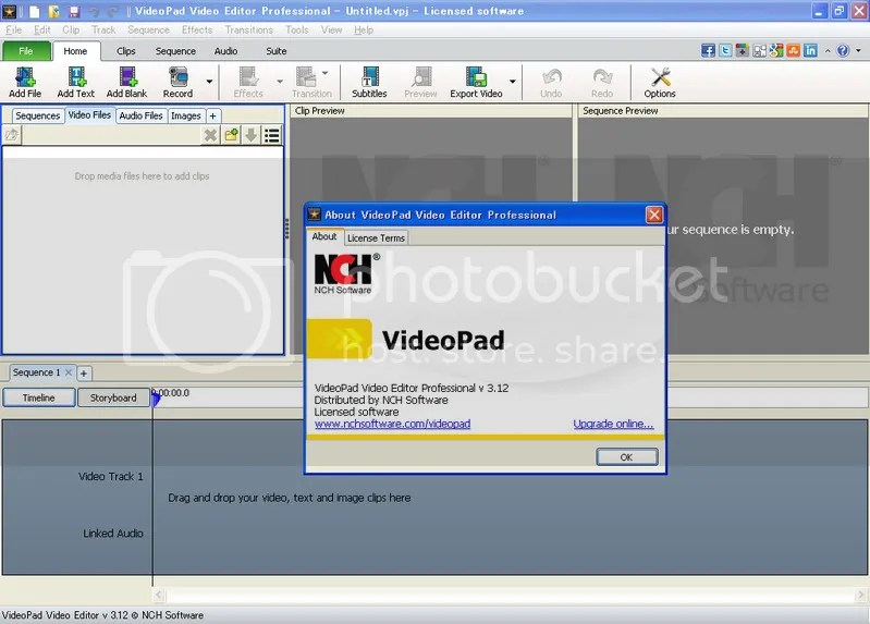 morgantseng: Portable NCH VideoPad Video Editor Pro 3.1.2