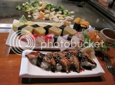 Sushi at Nagoya