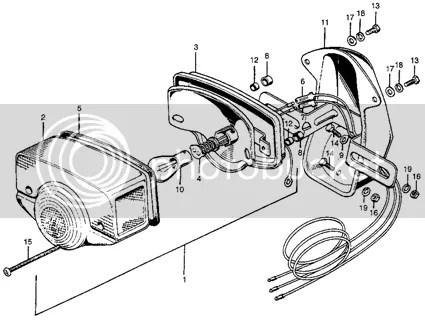 For Honda CB100 CS90 S90 CL70 CL90 CL100 CT90 C70 C70M