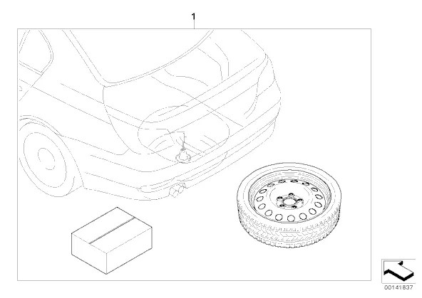 questions on bmw space saver spare wheel