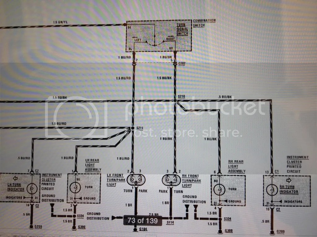 hight resolution of above are the wiring diagrams of the turn hazard circuits shown is the hazard switch in the off position what you ll want to do starting at the fuse is to