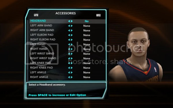 Player appearances that need to be worked on for 2k11