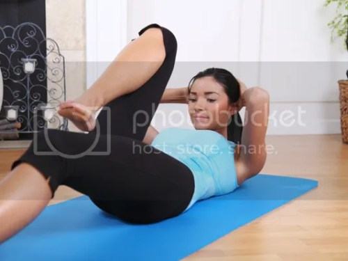 Sit On a Mat Exercise