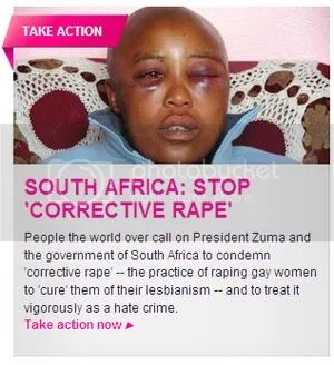 Petition campaign to fight 'Corrective Rape' - Avaaz.org