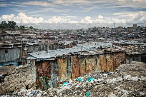 Mathare Valley slum - Nairobi, Kenya
