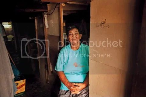 Philippine woman with diabetes
