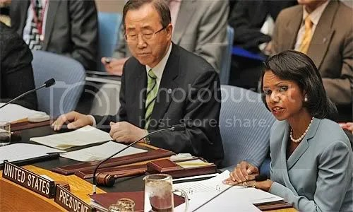 LA Times - UN Sec. Gen. and US Sec. of State lead meeting at General Assembly