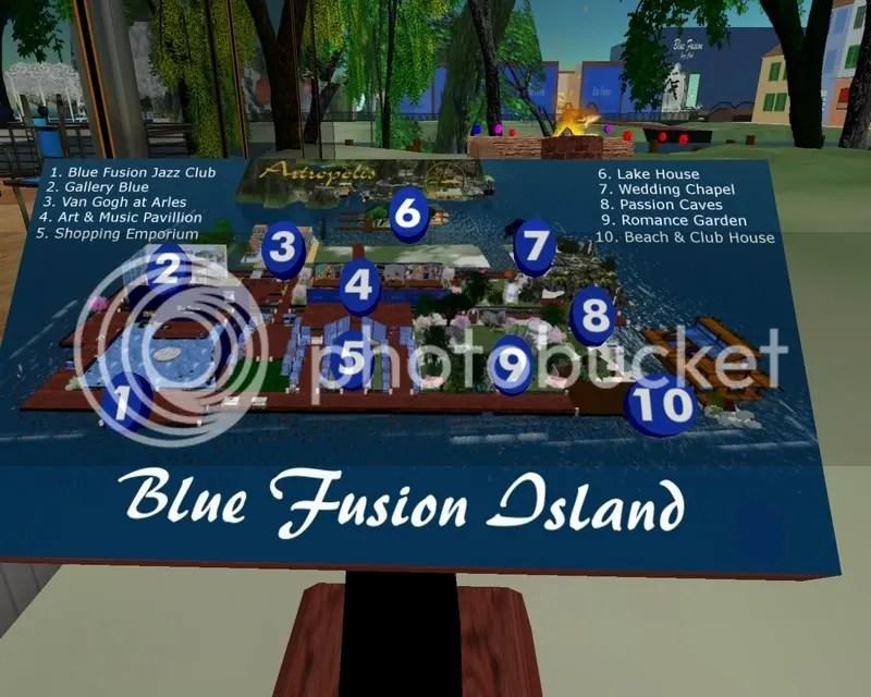 Blue Fusion's Navigation  Sign