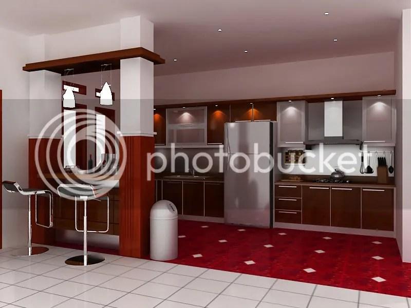 MEGA DESAIN STUDIO  Desain Kitchen Set Mini Bar