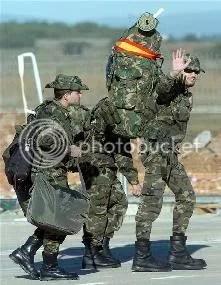 espanoles en afganistan