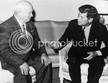 kruschev vs kennedy