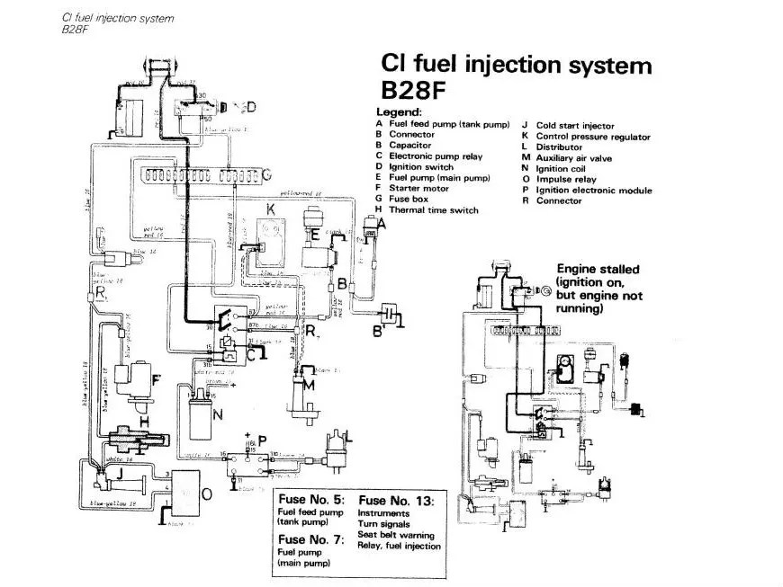 Bosch K Jetronic Fuel Injection Wiring Diagram Bosch