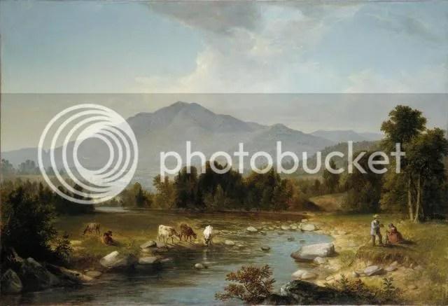 Asher Brown Durand - High Point: Shandaken Mountains, 1853