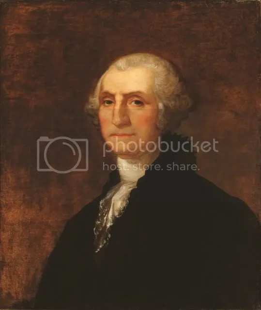 Rembrandt Peale, George Washington, 1824, Oil on canvas, 30 x 25 in.