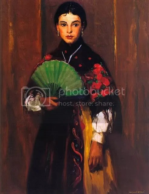 Robert Henri, Spanish Girl of Segovia (1918)
