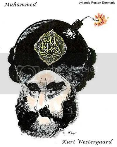"Kurt Westergaard's ""Muhammad cartoon"""