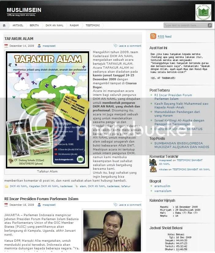 blog DKM AN NAHL muslimsein