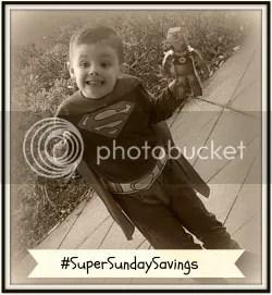 #SuperSundaySavings