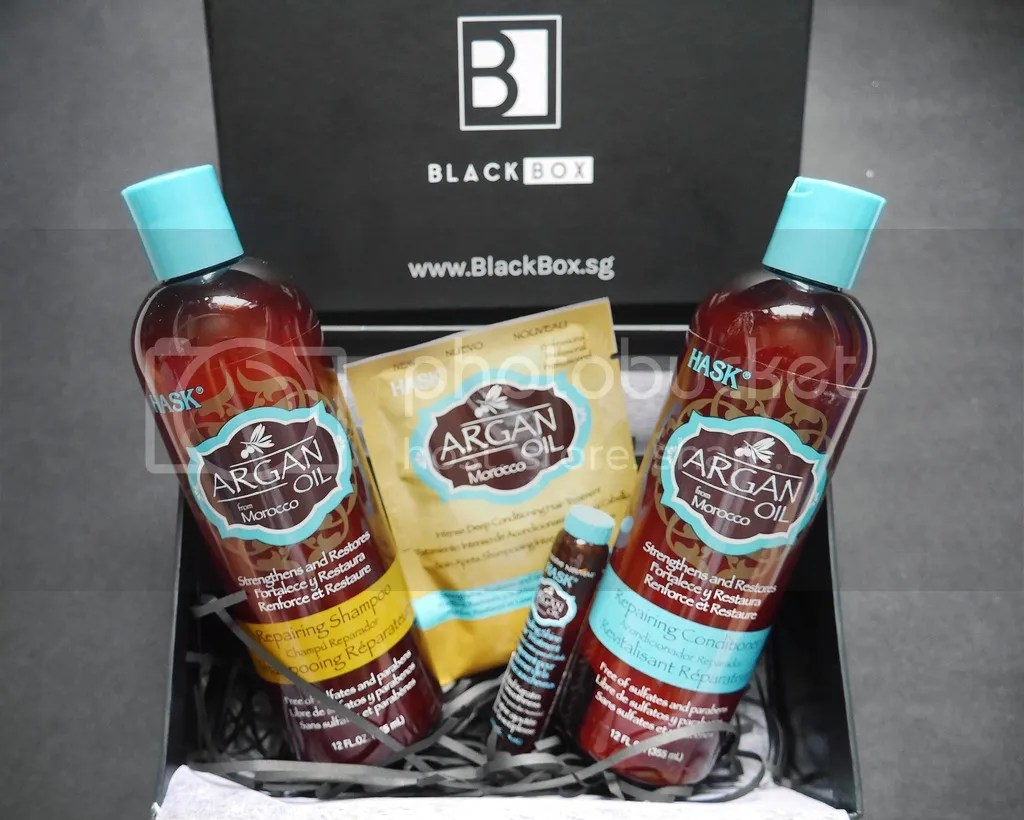 HASK Blackbox SG Haircare Argan Oil