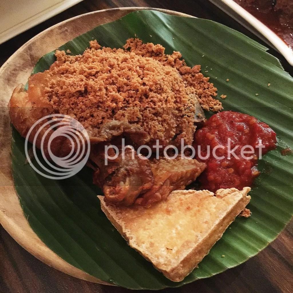 Pondok Jawa Timur - Indonesian Restaurant Singapore ayam penyet