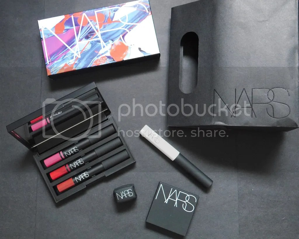 NARS Singapore, Lipstick Eyeshadow primer, Cheek Stain
