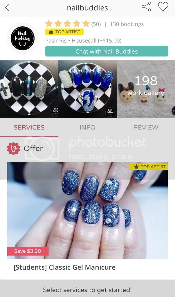 """0a6cdb6f909 When you click """"Portfolio"""", you get to view photos of the work that she has  done for her past clients. That's right – she does Tsum Tsum nail art!"""