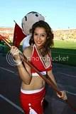 Soccer Babes — Mexican Primera Torneo Clausura 2011 Week 2 Cheerleaders / Porristas