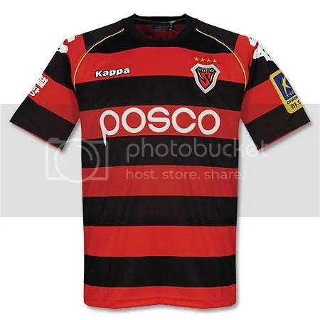 d0bed63e65f Check out our Kits and Jerseys section for more new kits. Pohang Steeler  2009/10 ...