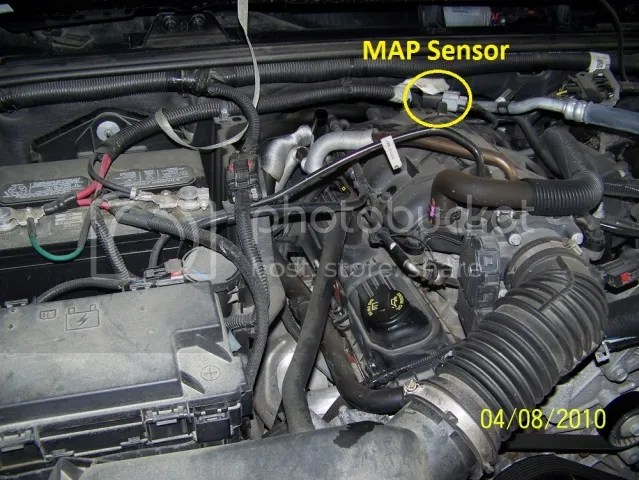 Jeep Wrangler Map Sensor Location