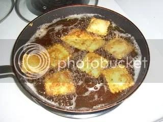 Frying Raviolis