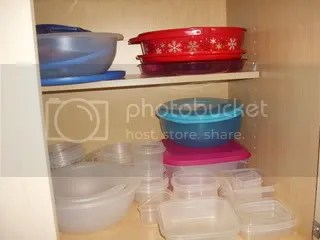 Tupperware Cabinet A