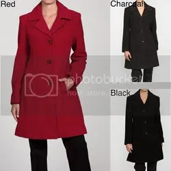 London Fog Peacoat c/o Overstock