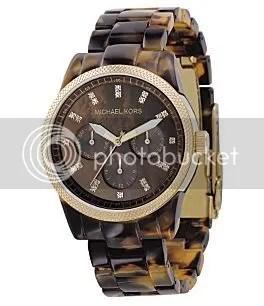 Michael Kor's Faux Tortoise Watch