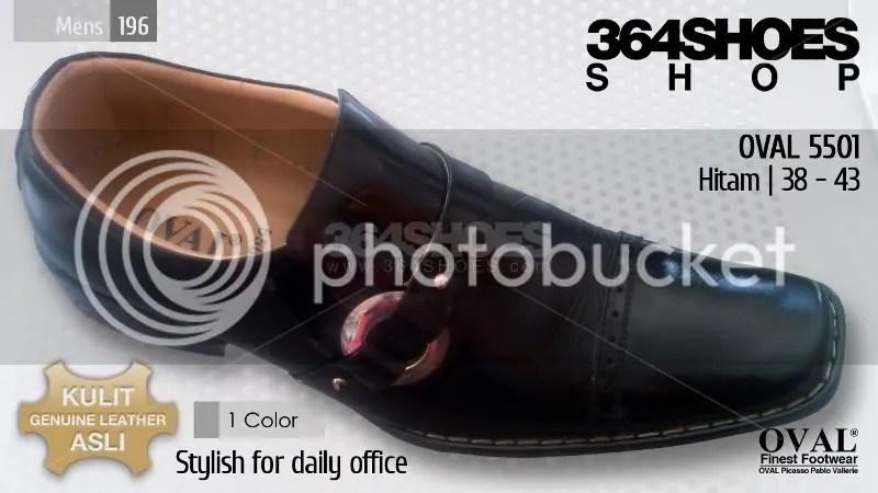 Sepatu Pria OVAL 5501 Hitam