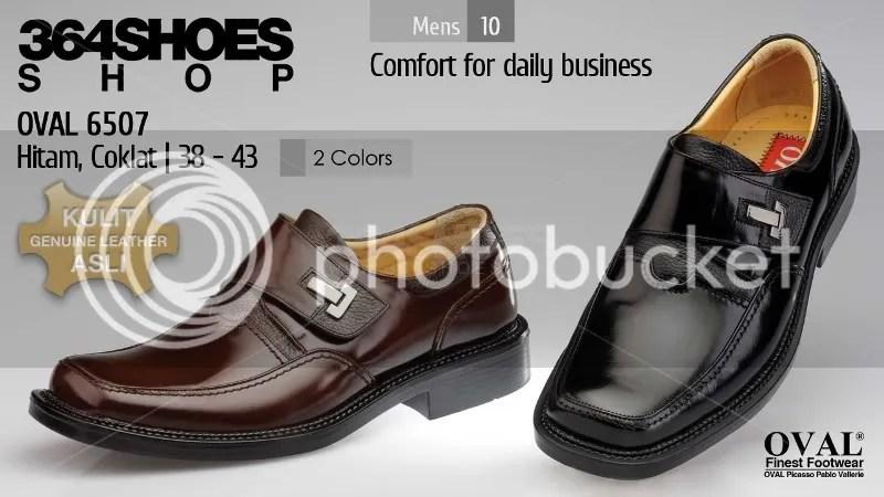 Sepatu Pria OVAL 6507