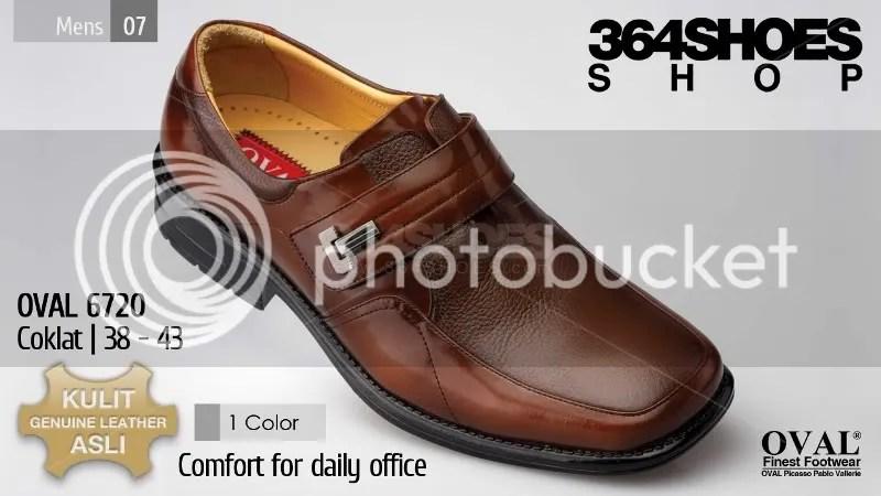 Sepatu Pria OVAL 6720