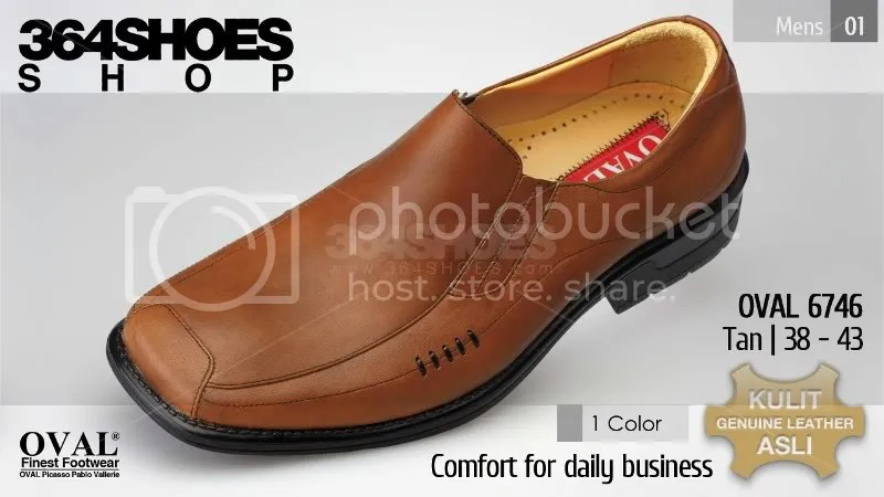 Sepatu Pria OVAL 6746